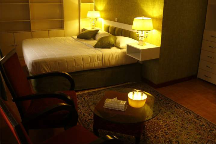 Two-Bedroom Royal Suite at Hotel Borj Sefid